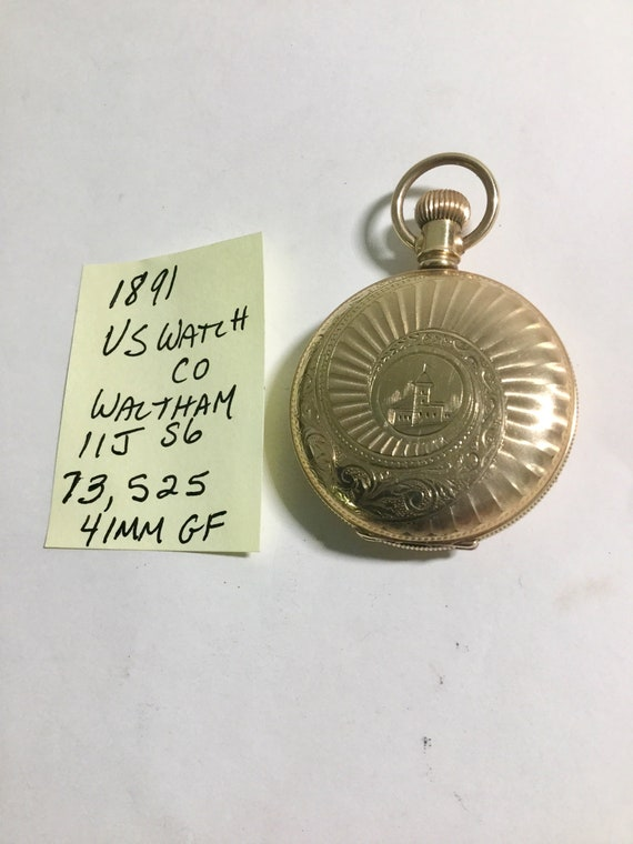 Antique Provided Illinois Lever Set Antique Hunter Case Pocket Watch 14k Gf Excellent Runs Jewelry & Watches