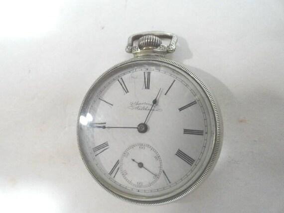 1914 American Waltham Pocket Watch 7 Jewel 18 Size 50mm Running