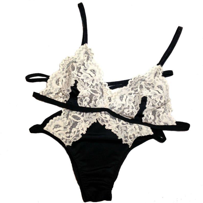 6e3bf8ab Sexy conjunto de lencería lencería adornos bragas sujetador | Etsy