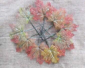 Fall Wedding Decor   Leaf Decorations