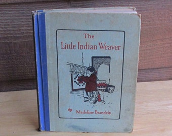 Vintage Childrens Book | Native American Child's Story
