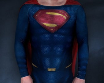 SUPERMAN JUSTICE LEAGUE Costume / Mens Boys Cosplay