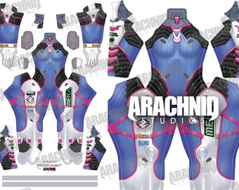 Cosplay Overwatch D.Va With These Costumes And Accessories