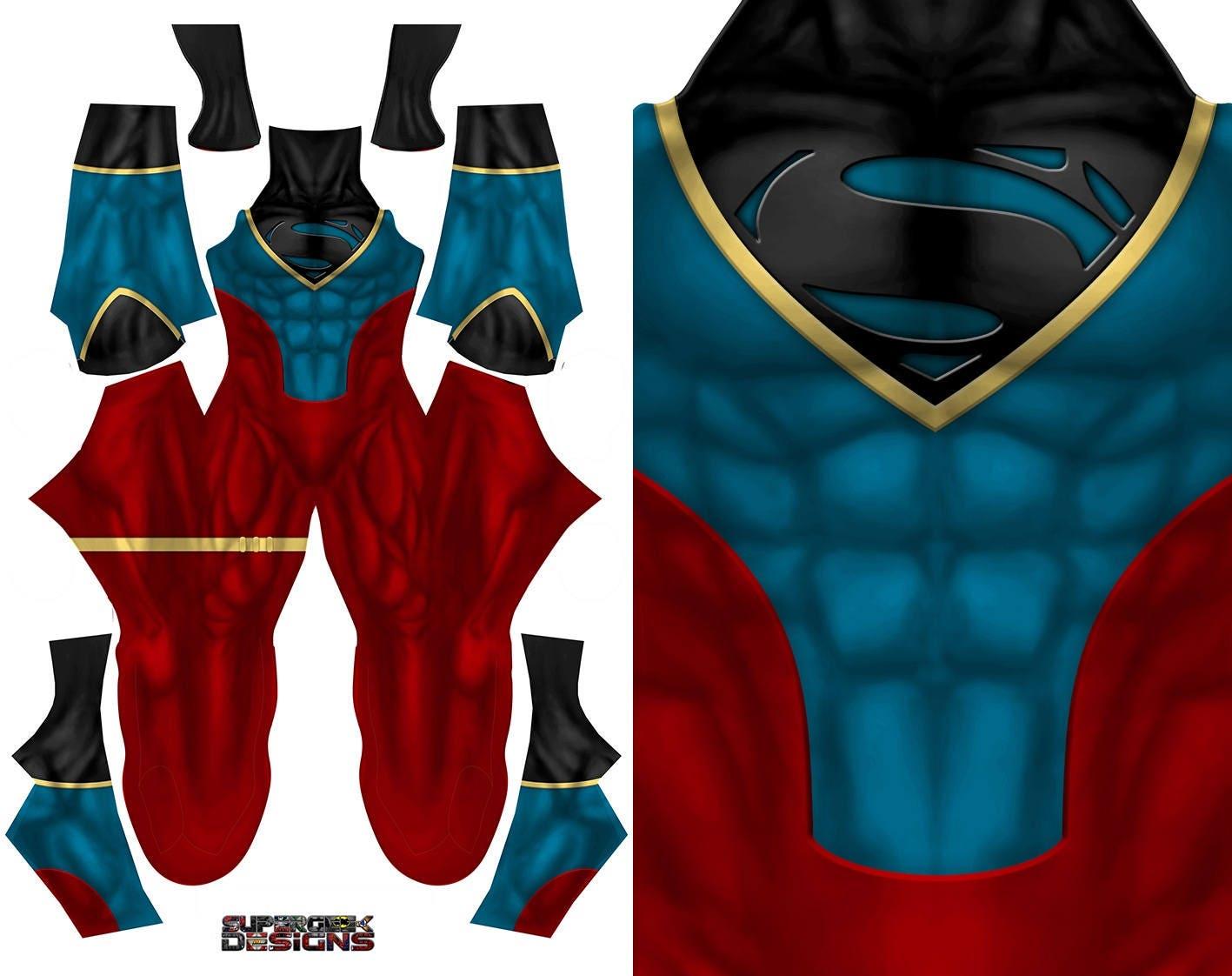 SUPERBOY Kostüm comic Con jungen Cosplay Superheld
