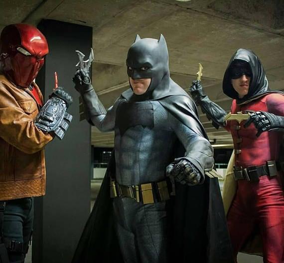 BESONDERES Angebot Batman Body und die Hälfte Preis Kap / | Etsy