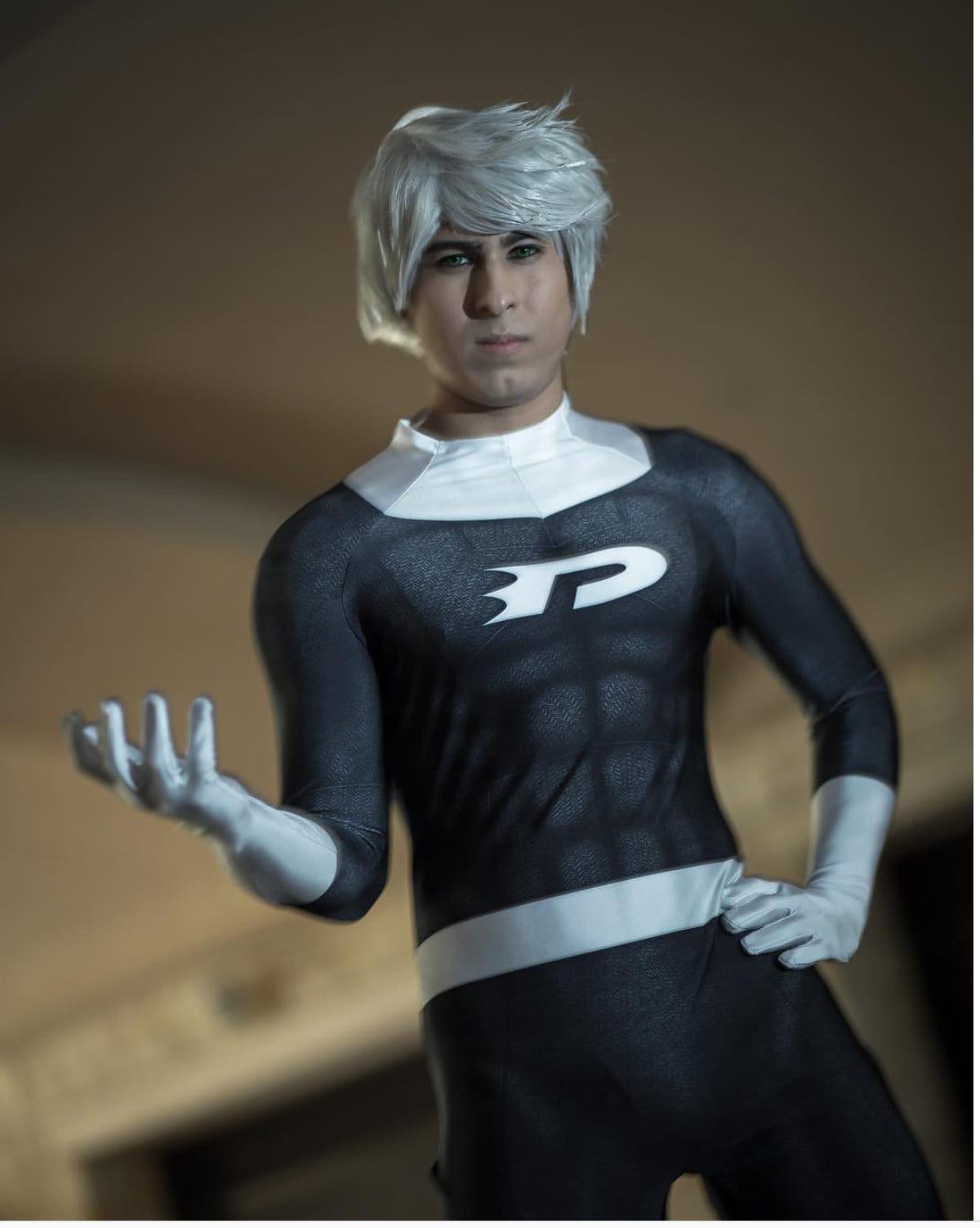 DANNY PHANTOM costume / mens boys cosplay | Etsy
