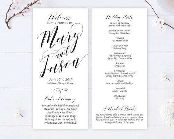 Cheap Wedding Programs.Printed Simple Wedding Program Cheap Wedding Programs Printed On White Premium Paper Calligraphy Programs For Wedding