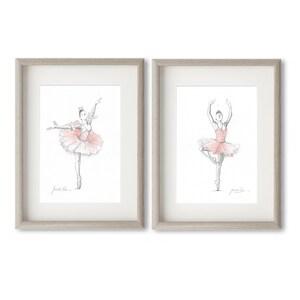 Ballet Dancers Ballerina Prints Pink | Etsy
