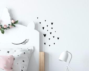Wall Sticker Heart black