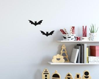 Wall Sticker Bats Set