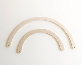Mobile wooden arches for tinkering