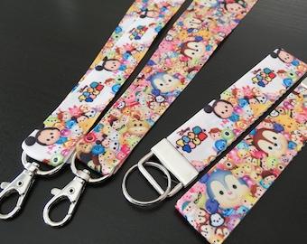 Disney Tsum Tsum Keychain / lanyard