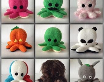 Octopus plush - Léonard (Superpowers)