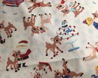 bc140215757 Rudolph the Red Nose reindeer-Medical-Rn-Dr-Lpn-Cna-Dentist-Therapy-Vet  Scrubs-Plus Size Scrubs-Character Scrubs-Unisex Scrubs-XS/3X