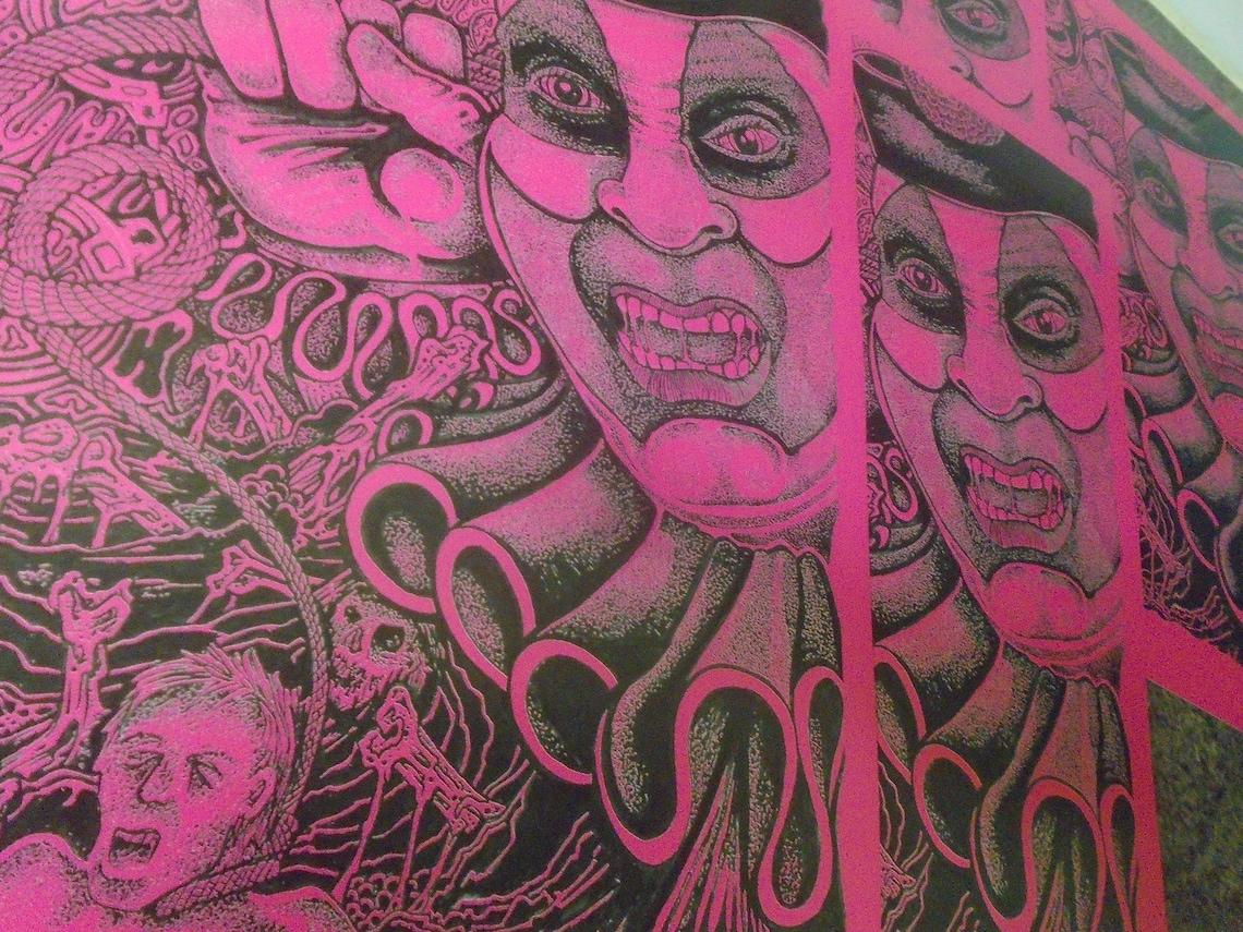 John Wayne Gacy Pogo the Clown art Ltd to 6 first press   Etsy