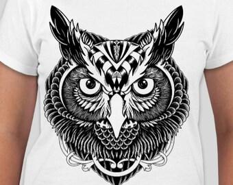 Eule-t-Shirt tops   t-Shirts unisex Erwachsene Kleidung Eule Männer-t-Shirt  Eule Frauen Kleidung Eule Männer Kleidung Geschenk shirt 0e00e94b87