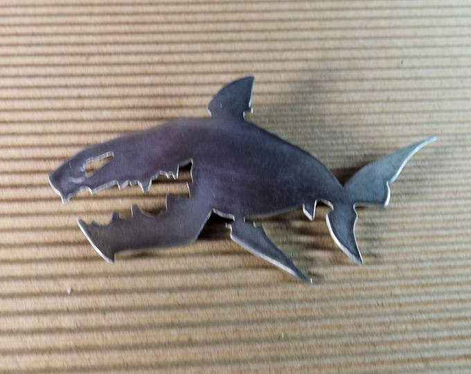 Shark Brooch