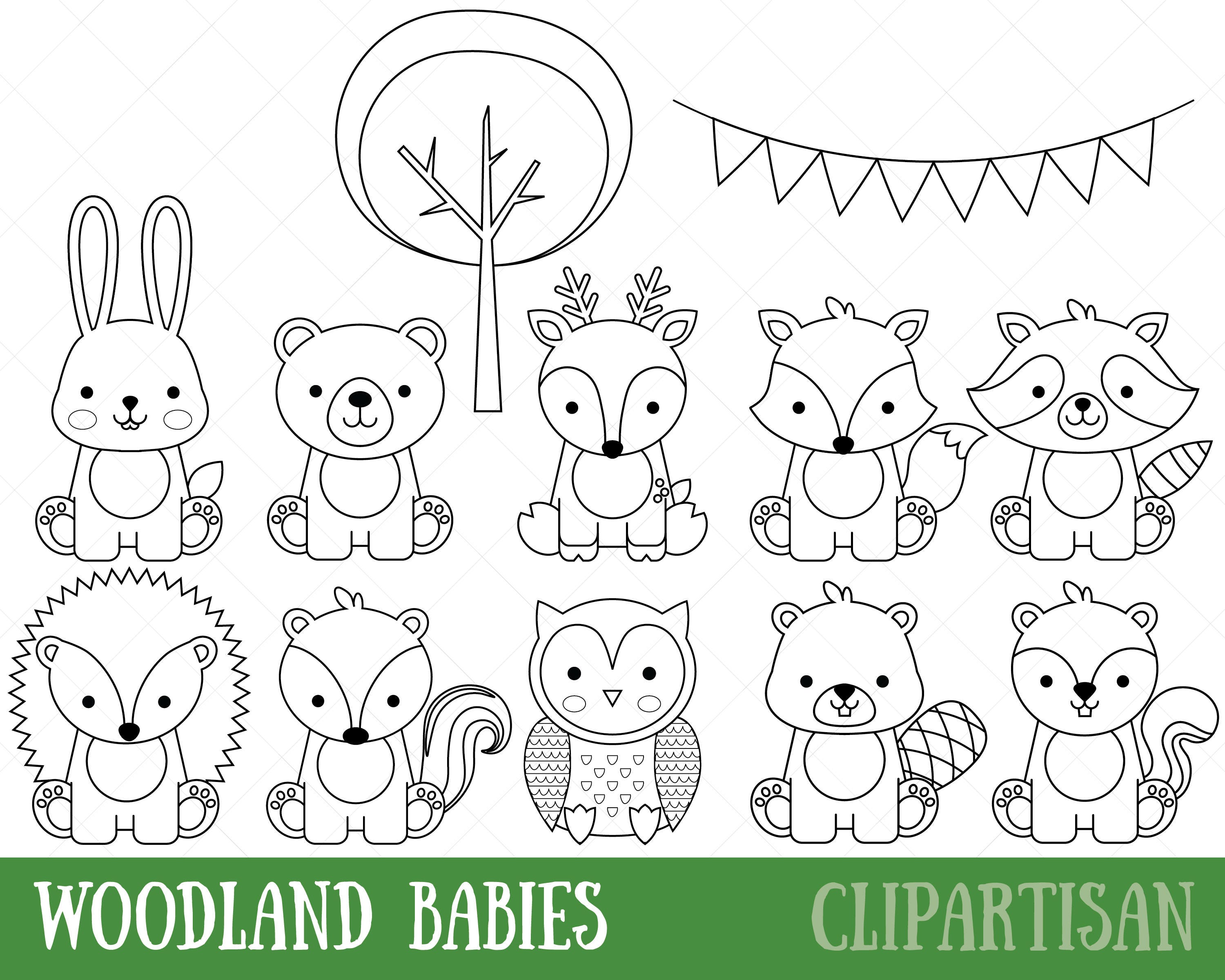 Baby Collage Coloring Pages