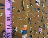 Amish Family Quilt Life Quilting Cotton by the HALF YARD