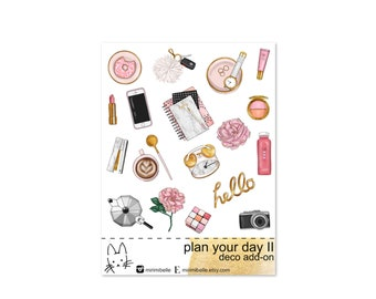 Plan Your Day II - ADD-ON Deco Sticker