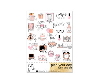 Plan Your Day - ADD-ON Icons