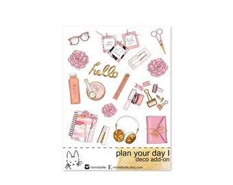 Plan Your Day I - ADD-ON Deco Sticker