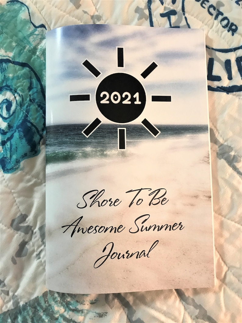 2021 Shore To Be Awesome Summer Journal image 0