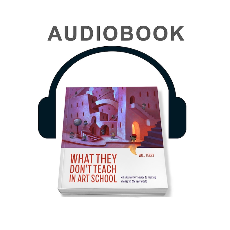 What They Don't Teach in Art School. Audio Book image 0