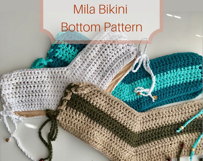 Mila Bikini Bottom Crochet Pattern