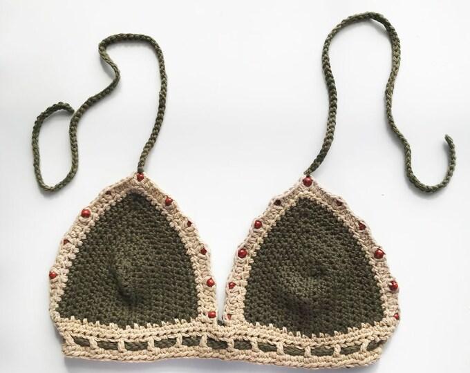 Mila Crochet Bikini Top