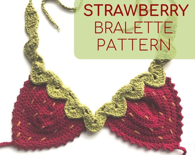 Strawberry Crochet Top Pattern