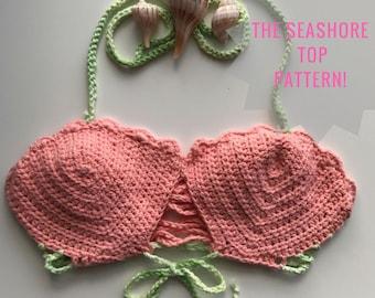 The Seashore Top Crochet Pattern