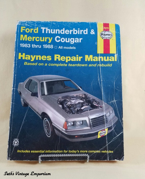 Haynes Repair Manual 1991 Ford Tempo Ignition Wiring Diagram - Daily ...