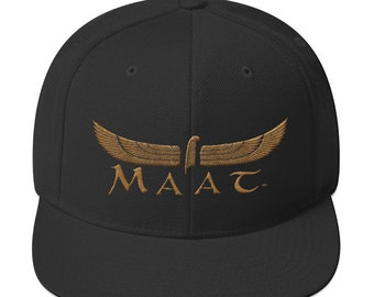 01df368f375b1b Cool hat, Unique snapbacks, African hats, Flat brim hat, Maat, Egyptian hat,  Black dad gift, Dad hat, Snapback Hat, Trendy Trending, Fashion
