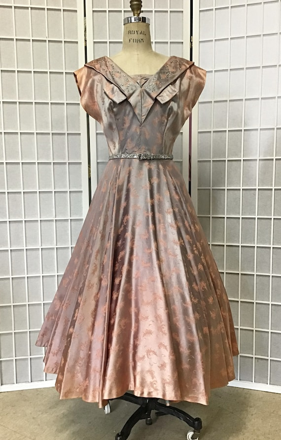 Gorgeous 1950s Evening Dress