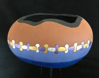 """Fine gourd art """"Plainly"""""""