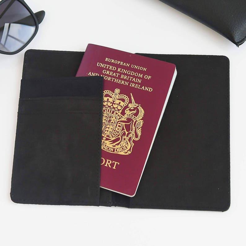 Personalised Passport Cover Holder Lady/'s passport wallet Mother Passport Gift Stripey Passport Cover Custom passport holder