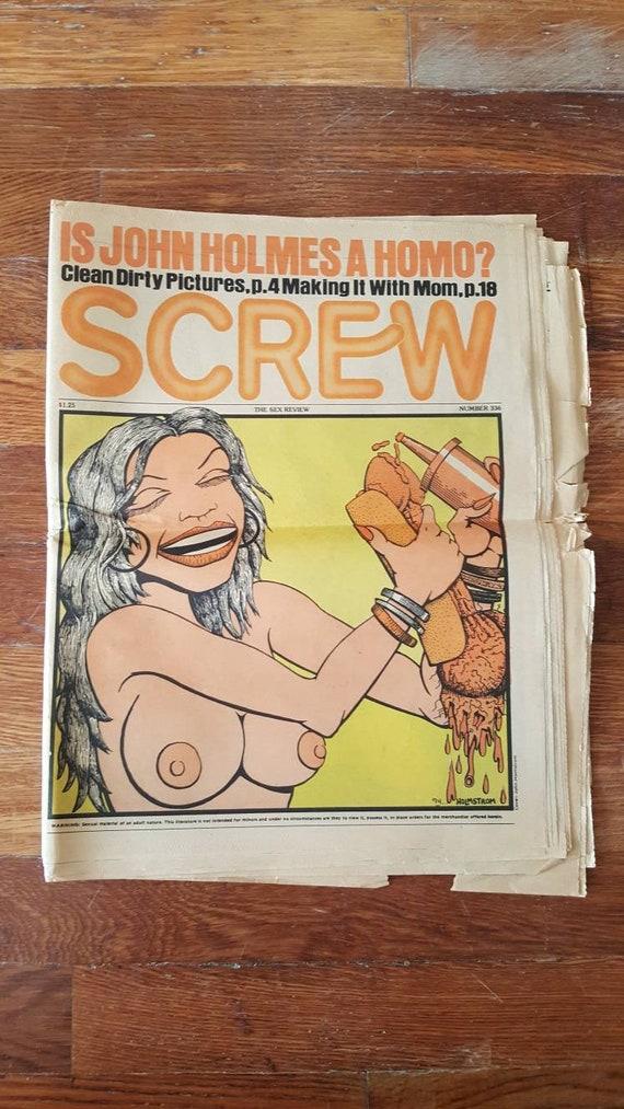 Screw and mature
