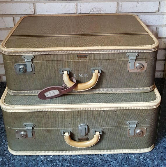 Vintage Oshkosh Suitcase