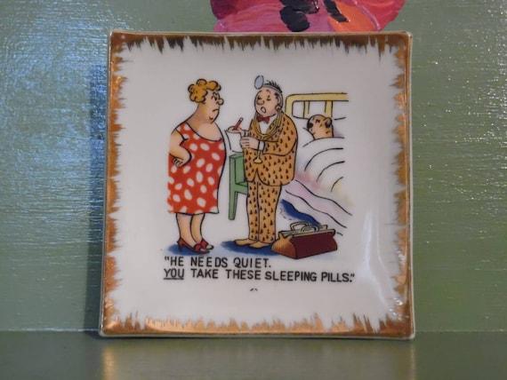 Funny Naughty Ashtray Plate Gag Gift Dirty Joke Sex Cartoon  Etsy-7636