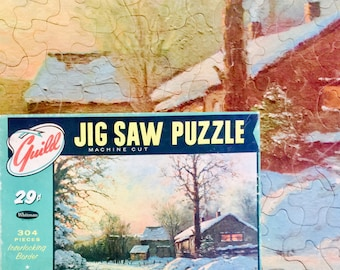 Guild Jig Saw Puzzle made in the USA circa 1940s