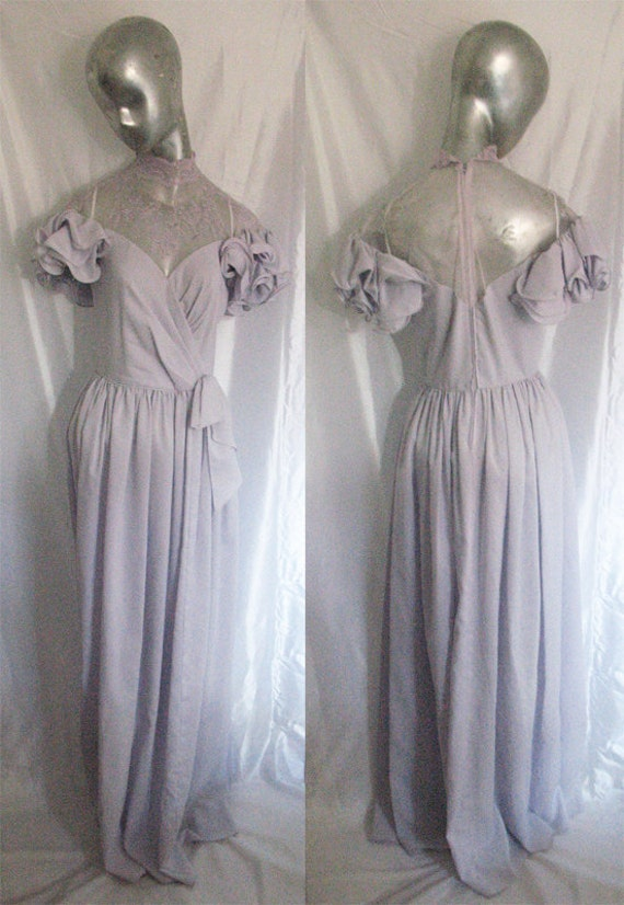 Vintage Lavender Party Dress