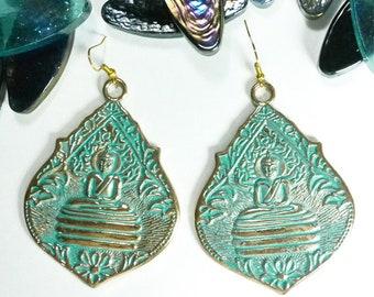 Nirvana Earrings, Tribal Earrings, Ethnic Earrings, Boho Earrings, Dangle Earrings, Bohemian Earrings, Statement Earrings