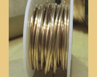 BRONZE Wire  20 Ga 220 Ft. US Made Quality Round Craft Wire 10 Oz Spool SOFT