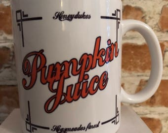Harry Potter inspired Mug pumpkin juice