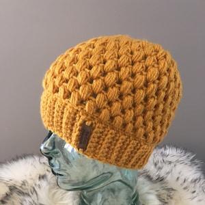 gray crochet US only Braidy Beanie hat handmade FREE SHIPPING purple