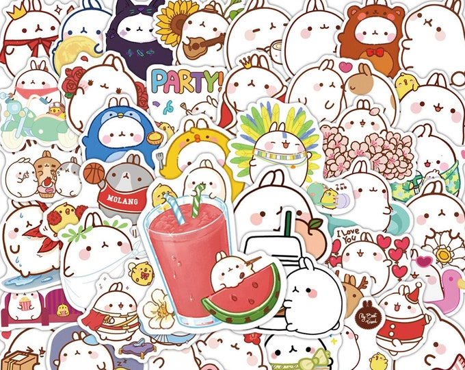 Molang #2 Decal Stickers