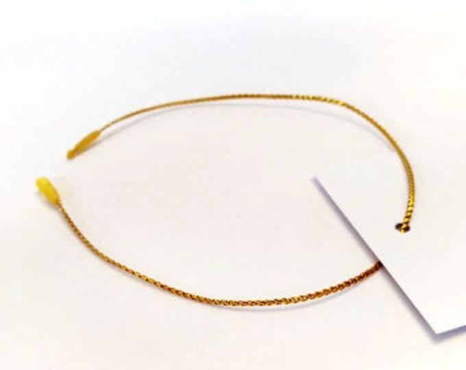 1000 Gold Hang Tag Strings