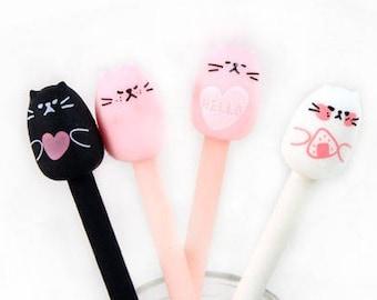 Love Cats, Gel Pens, Cute, Kawaii, Gift, Pink, 0.5mm