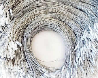 1000 Silver Hang Tag String